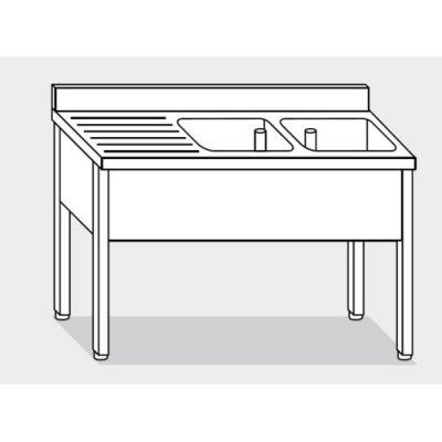 waschbecken 140x70x85 edelstahl 304 auf beinen k che restaurant rs5568 drucker. Black Bedroom Furniture Sets. Home Design Ideas