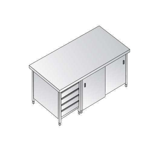 Mesa-de-180x70x85-304-cajones-de-acero-inoxidable-armadiato-restaurante-pizzeria