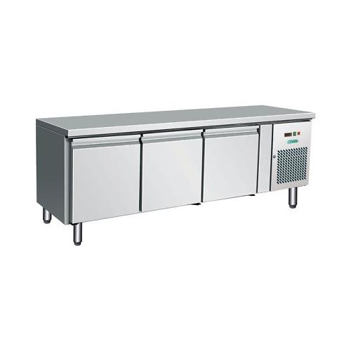 Tavolo frigorifero frigo 3 porte h cm 65 cm 179x70x65 -2 +8 RS1944